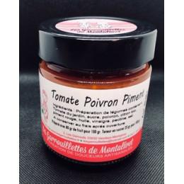 Sucré/Salé de tomate, poivron, piment. 280 gr