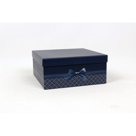 Boîte carrée Ruban