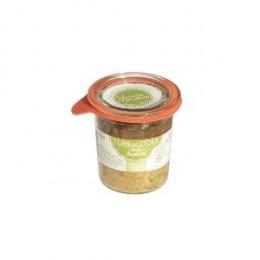 Flan de cèpes sauce Landaise