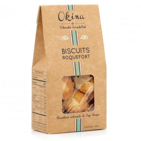 Biscuits au Roquefort et Ossau Iraty