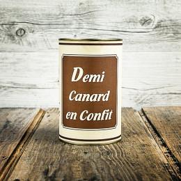 Confit ½ canard