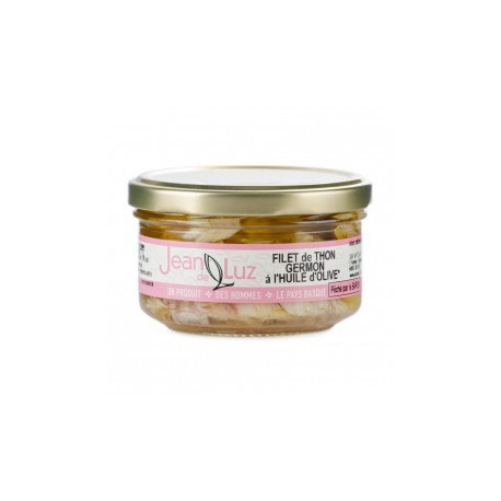 Filet de thon germon à l'huile d'olive