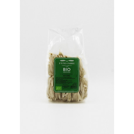 Tagliatelle 4 mm nids nature