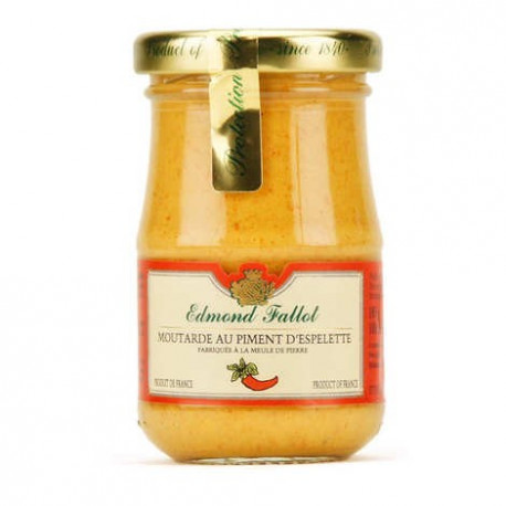 Moutarde au piment d'espelette