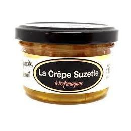 Mini crèpes Suzette à l'Armagnac